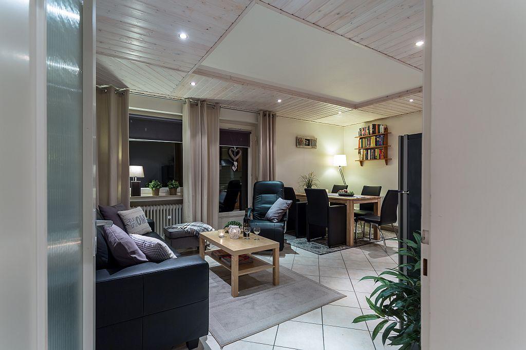 Woonkamer appartement Elise