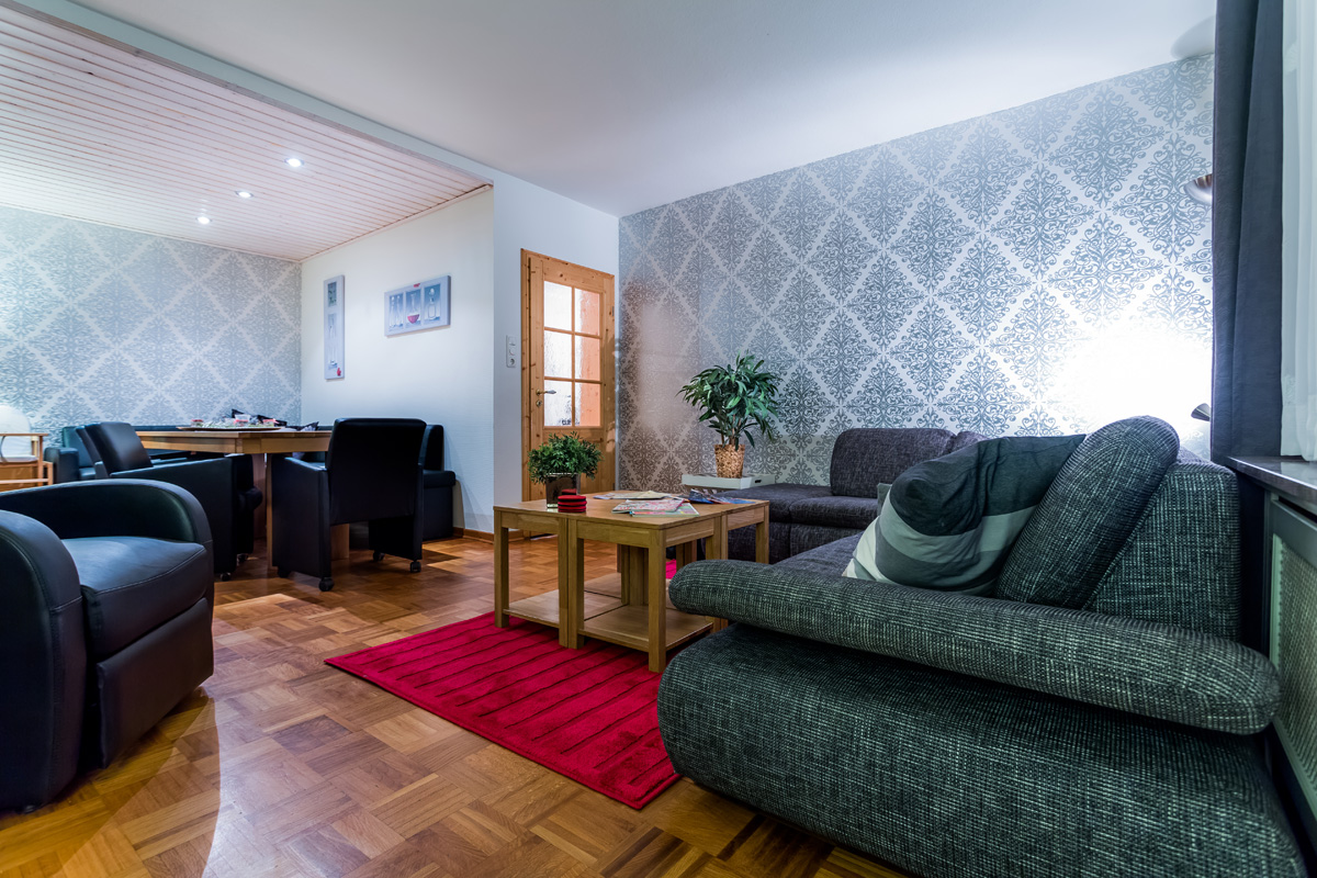 Woonkamer appartement Michel