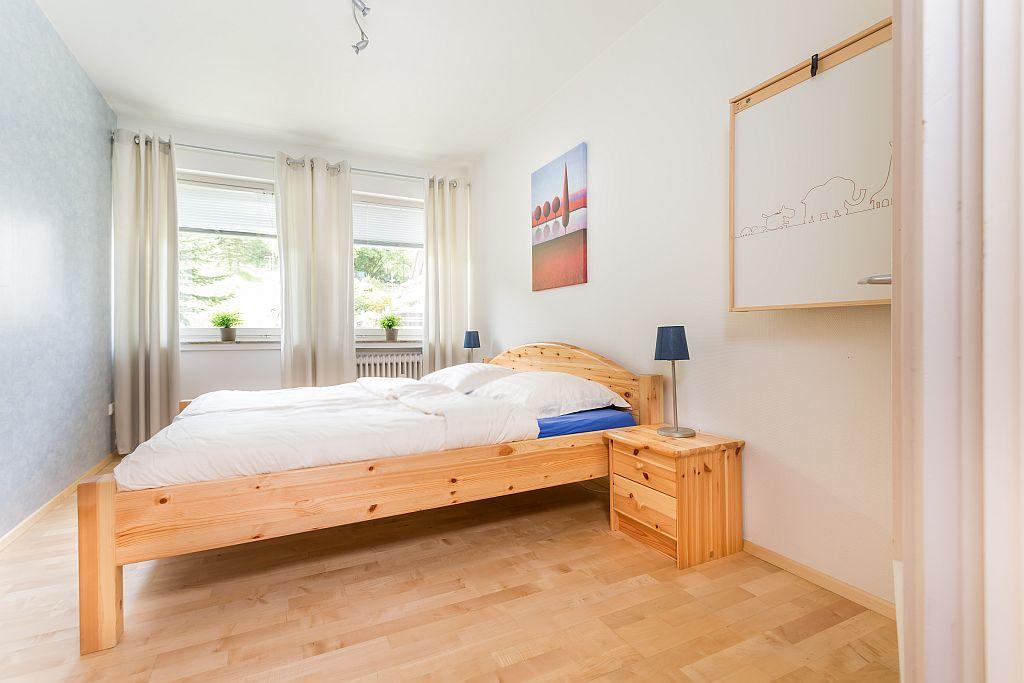 Slaapkamer appartement Elise.