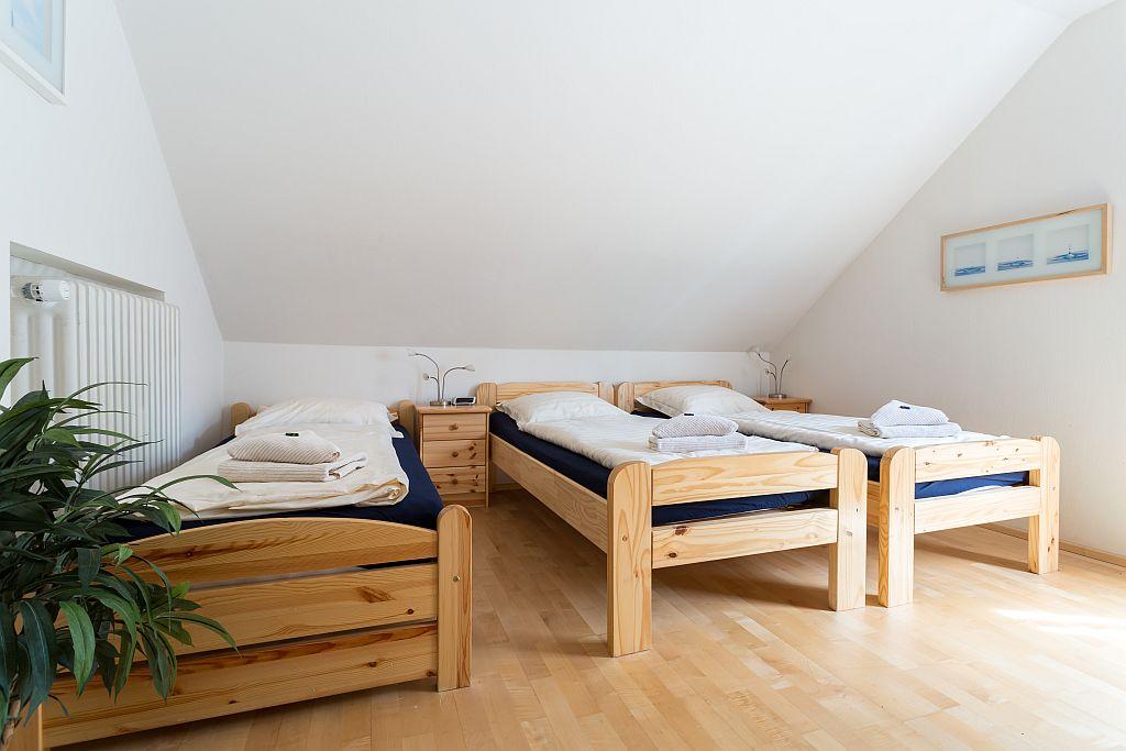 Appartement Elise slaapkamer 3 personen.