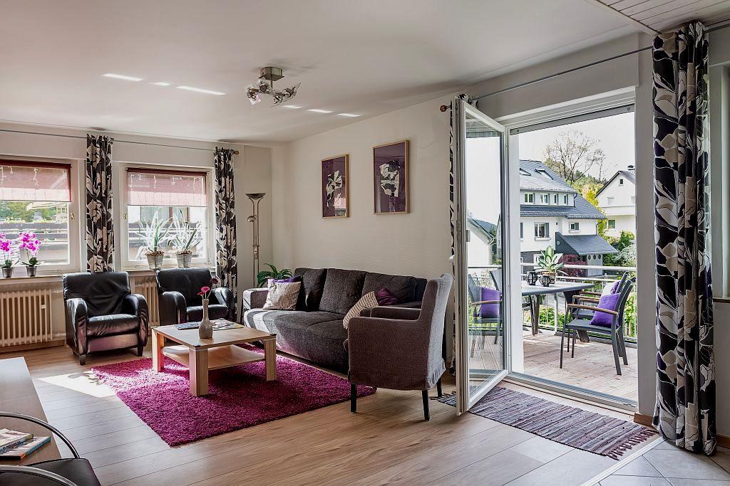 Woonkamer appartement Linda