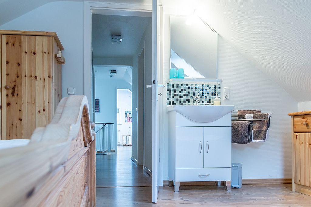 Badmeubel slaapkamer appartement Linda