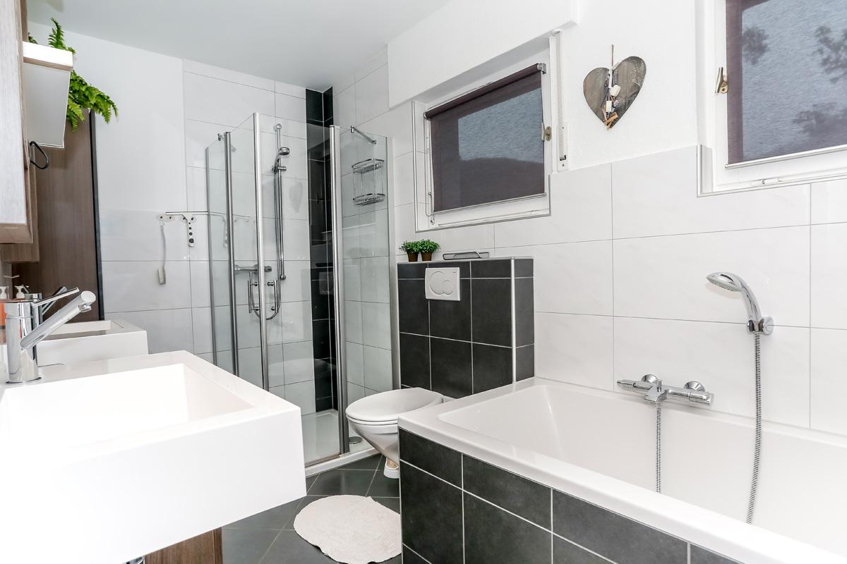 Grote badkamer appartement Michel