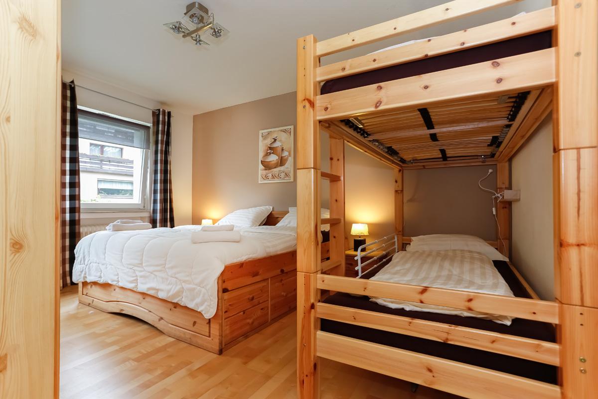 Slaapkamer appartement Michel