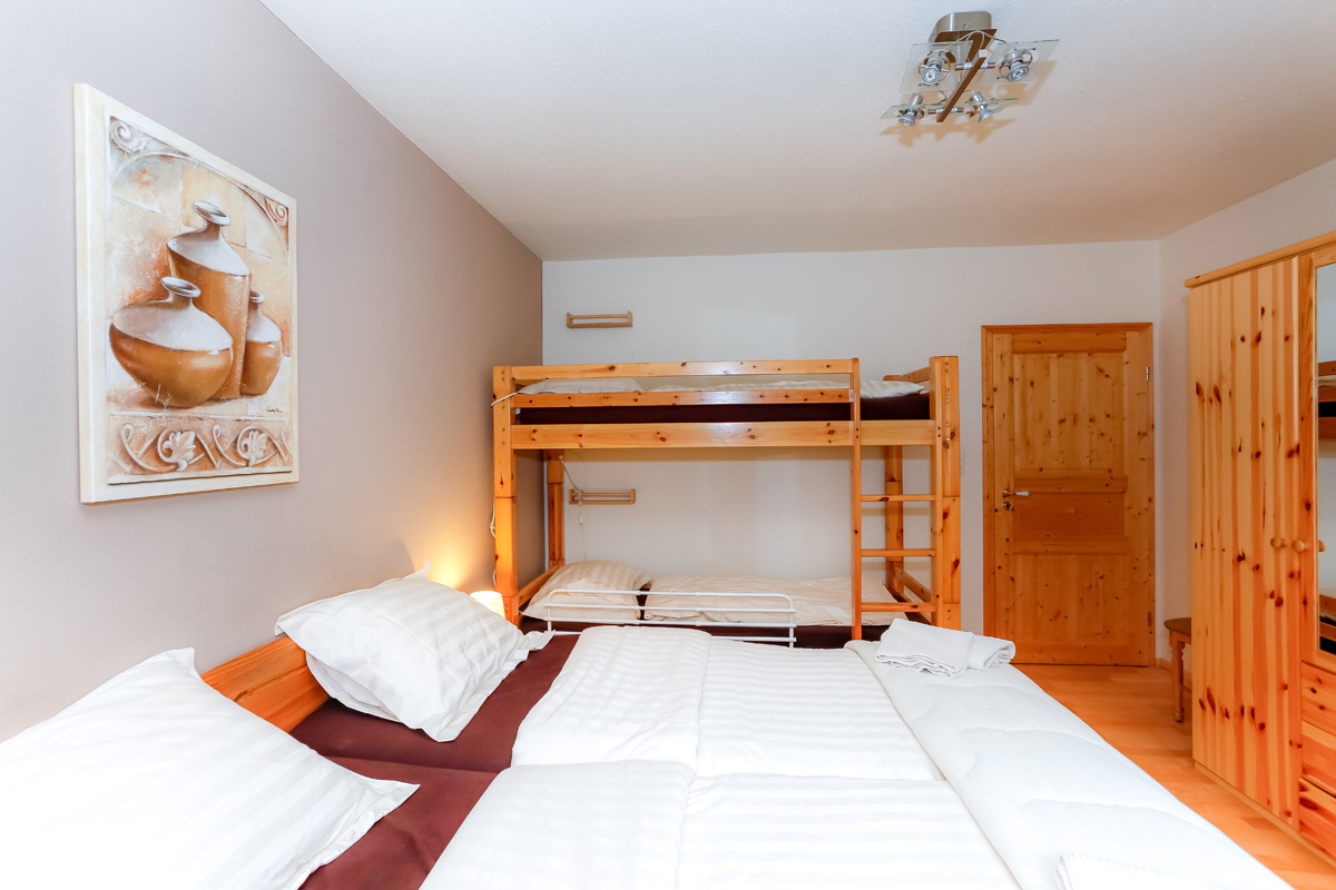 VIerpersoons slaapkamer appartement Michel
