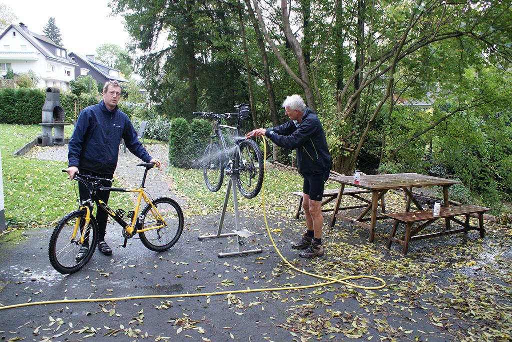 Schoonspuiten fietsen